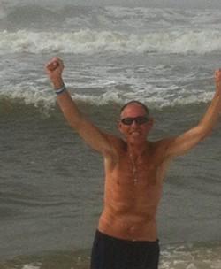 John Grega near his home on Long Island in 2014 - COURTESY OF THE GREGA FAMILY