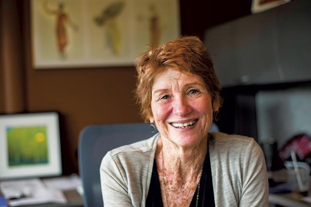 Johnson State College president Barbara Murphy - TIM SANTIMORE