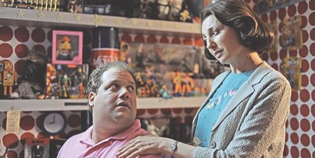 Jordan Gelber and Donna Murphy in Dark Horse