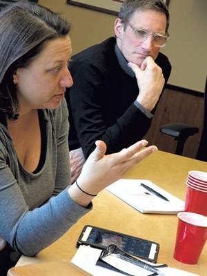 Judy MacIsaac Robertson and Michael Jager - MATTHEW THORSEN