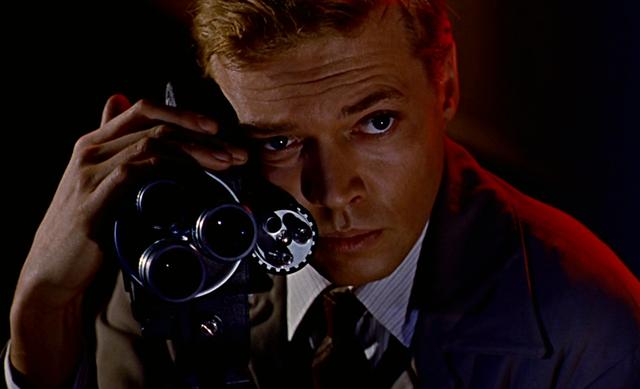 Karlheinz Böhm as Mark Lewis in Peeping Tom - ANGLO-AMALGAMATED FILM DISTRIBUTORS