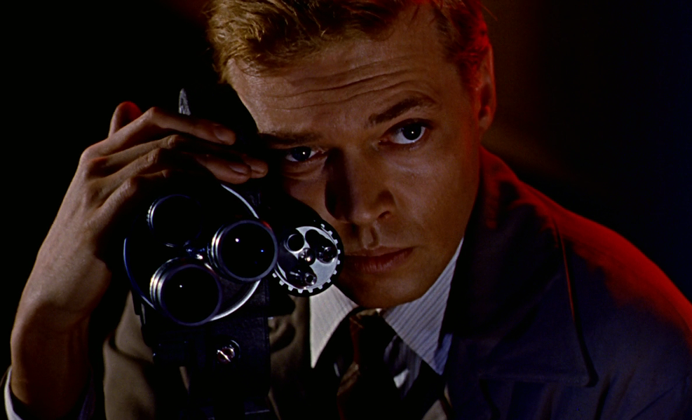 Karlheinz Böhm as Mark Lewis in Peeping Tom - ANGLO-AMALGAMATED FILM DISTRIBUTORS