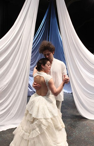 Kate Kenney and Christopher Scheer - COURTESY OF KRIS WEIR/LOST NATION THEATER