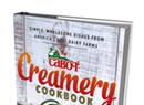 King Arthur's Sift Magazine; Cabot Creamery's New Cookbook