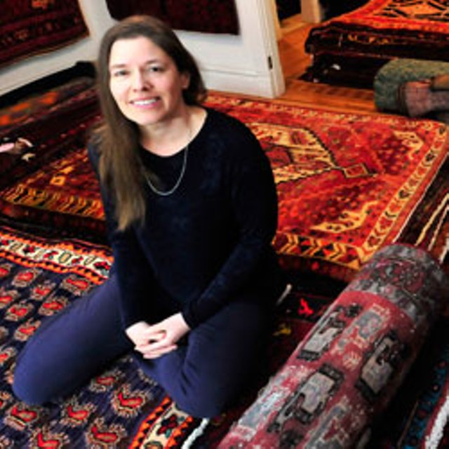 Kirsten Edey of Conscious Carpets - JEB WALLACE-BRODEUR