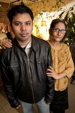 Ko Gyi and his mother Ah Chan - MATTHEW THORSEN