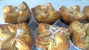 Kouign-amanns at August First Bakery