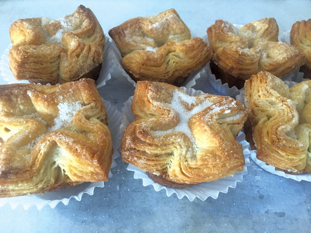 Kouign-amanns at August First Bakery - COURTESY OF AUGUST FRIST BAKERY