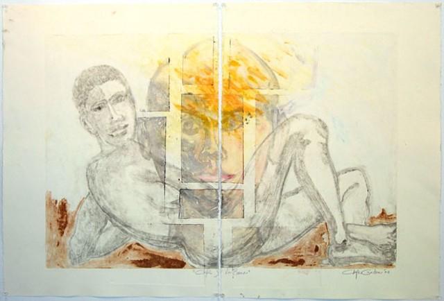 """""""La Rana y Chepe"""" by Chepe Cuadra"""
