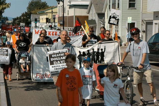 Labor Day March In Burlington for a Livable City