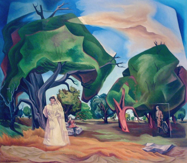 """Landscape with Figures"" by Francis Colburn - MARC AWODEY"