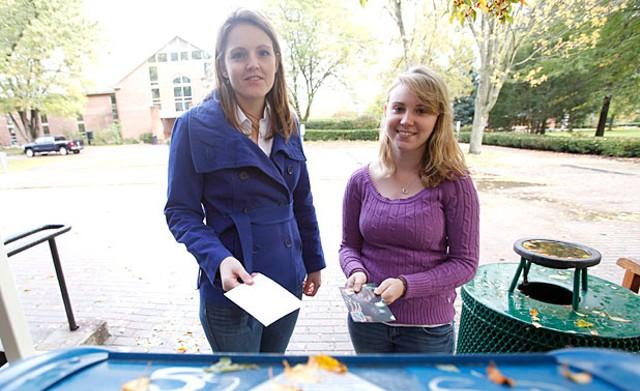 Leah Ziegler and Kate Bailey - JORDAN SILVERMAN