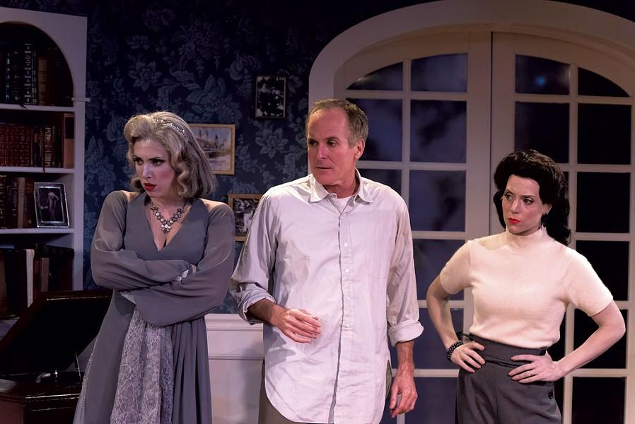 Left to right: Jenni Putney,  Sam Gregory, Alexis Hyatt - COURTESY OF JASON MERWIN