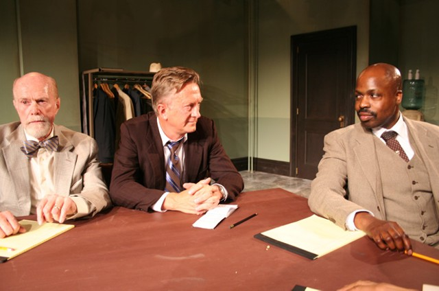 Left to right: Ken Kimmins, Jamie Horton, Jarvis A. Green