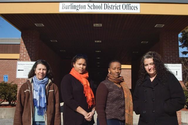 (Left to right) Liz Curry, Lindsay Reid, Jeanine Bunzigiye, Sara Martinez de Osaba - MATTHEW THORSEN