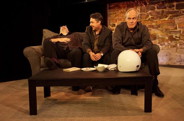 Left to right, Mark Alan Gordon, Adrian John O'Donnell, Roy Cutler