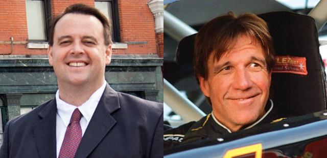 Left to right, Steve Howard and Phil Scott