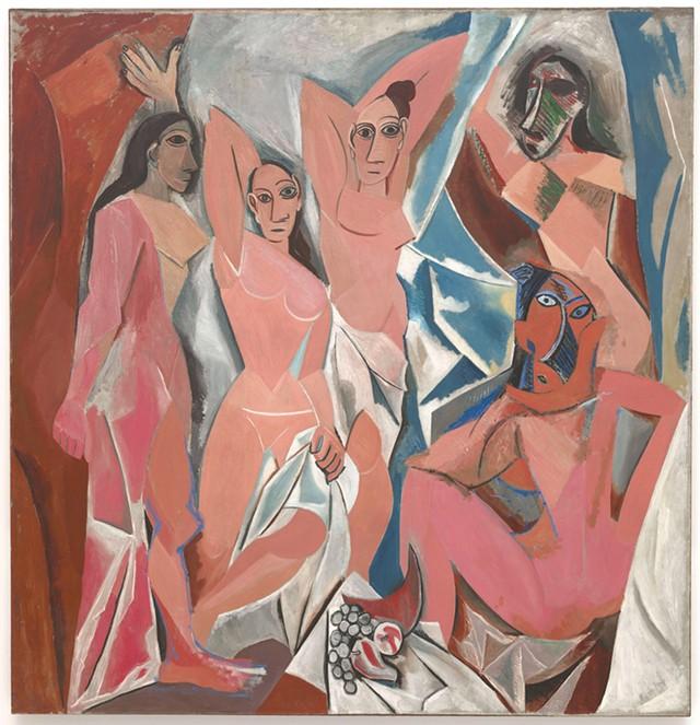 """""""Les Demoiselles d'Avignon"""" by Pablo Picasso"""