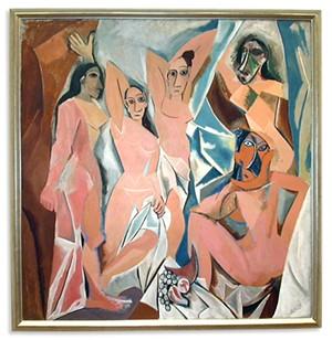 """COURTESY OF FLEMING MUSEUM OF ART - """"Les Demoiselles d'Avignon"""" by Pablo Picasso"""