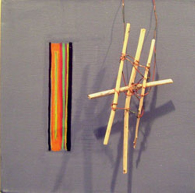 """Lines and Sticks"" by Linda Maney"