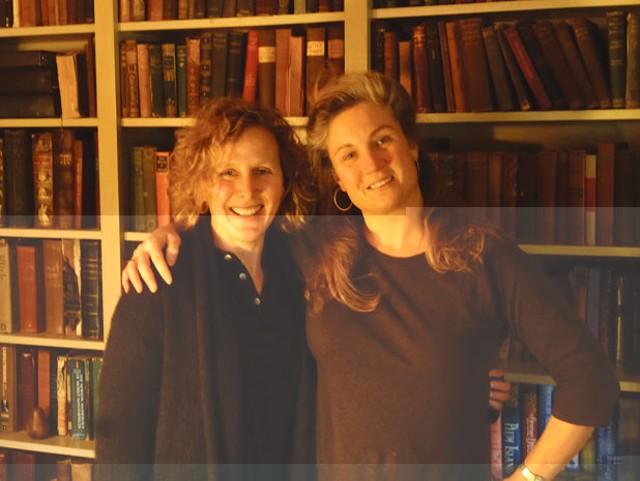 Lisa Christie and Lisa Cadow