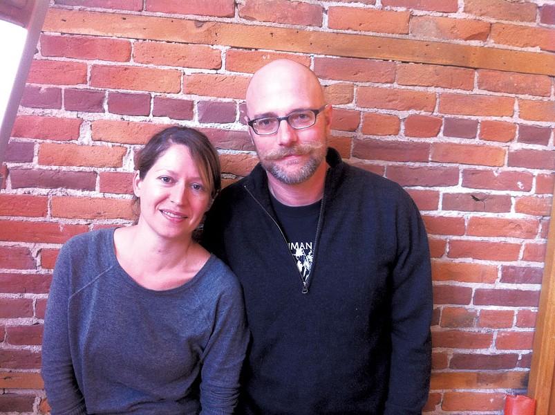 Lisa Osornio and Matt Gress - HANNAH PALMER EGAN