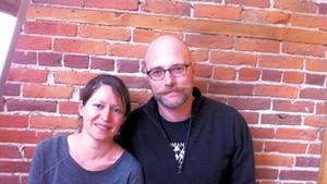 Lisa Osornio and Matt Gress