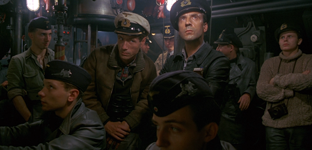 Listening closely in Das Boot - SONY PICTURES HOME ENTERTAINMENT