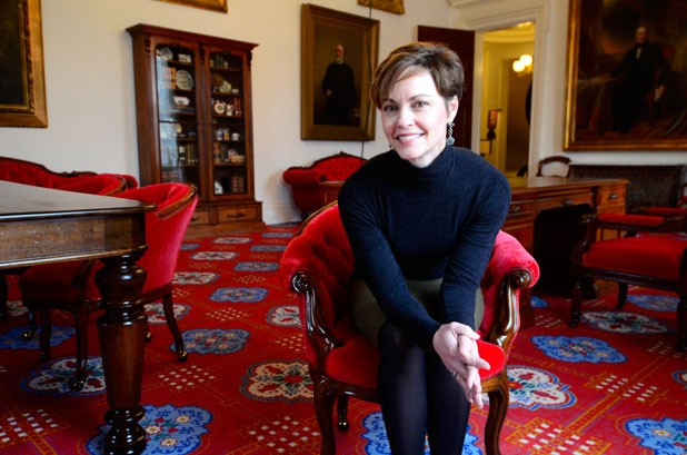 Liz Miller at the Statehouse in Montpelier - JEB WALLACE-BRODEUR