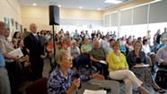 DCF Hearings Draw Crowds