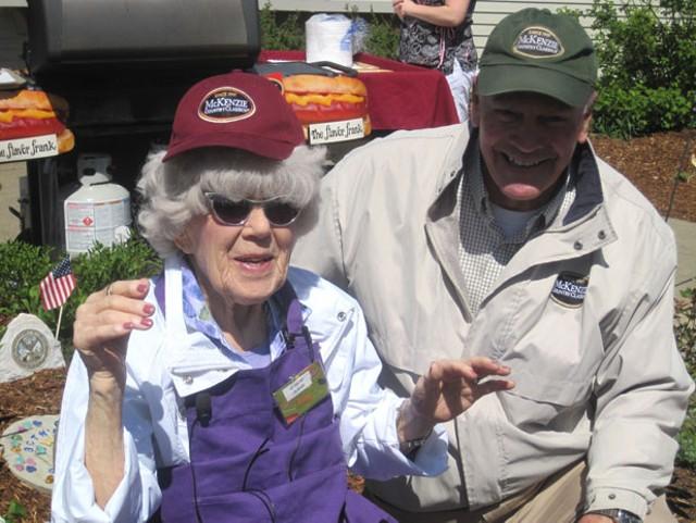Lois Bodoky and Bill McKenzie