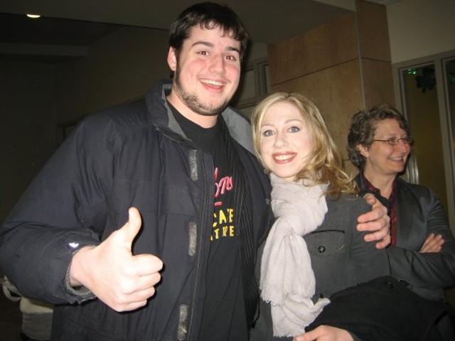 Louis Armistead and Chelsea Clinton