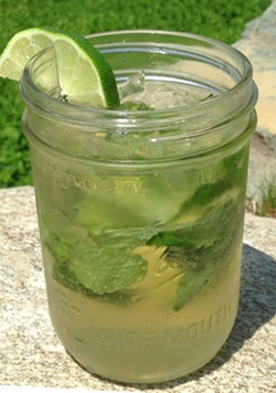 Mad River Mojito - COURTESY OF MAD RIVER DISTILLERS