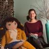 "A West Coast ""Knitting Lady"" Sets Up in Burlington"