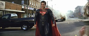MAN OF SULK Superman gets shinier, brawnier and moodier in Snyder's reboot.