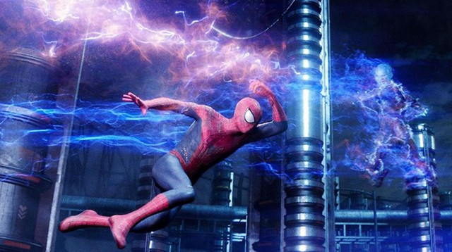 Mangled Web: Spider-Man goes up against a misused power grid, and if this looks like a cheesy cartoon to you, so will most of Webb's film.