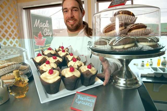 Maple City Diner chef-owner Marcus Hamblett - MATTHEW THORSEN
