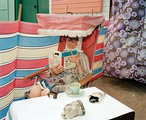 """COURTESY OF THE MAHANEY CENTER FOR THE ARTS AND THE APERTURE FOUNDATION - """"Margate, UK, 1986"""" by Martin Parr"""