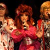 Margaurite, Lucy Belle and Amber: The House of LeMay performing at Drag Ball 2011