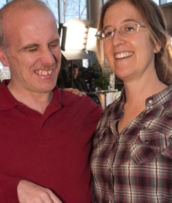 Mark Utter with Emily Anderson in 2012 - FILE: MATTHEW THORSEN