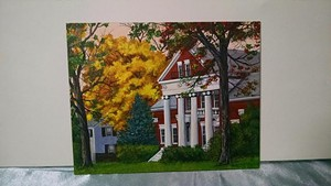 "COURTESY OF THE BRANDON ARTISTS GUILD - ""Marsh Mansion"" by Jackee Foley"