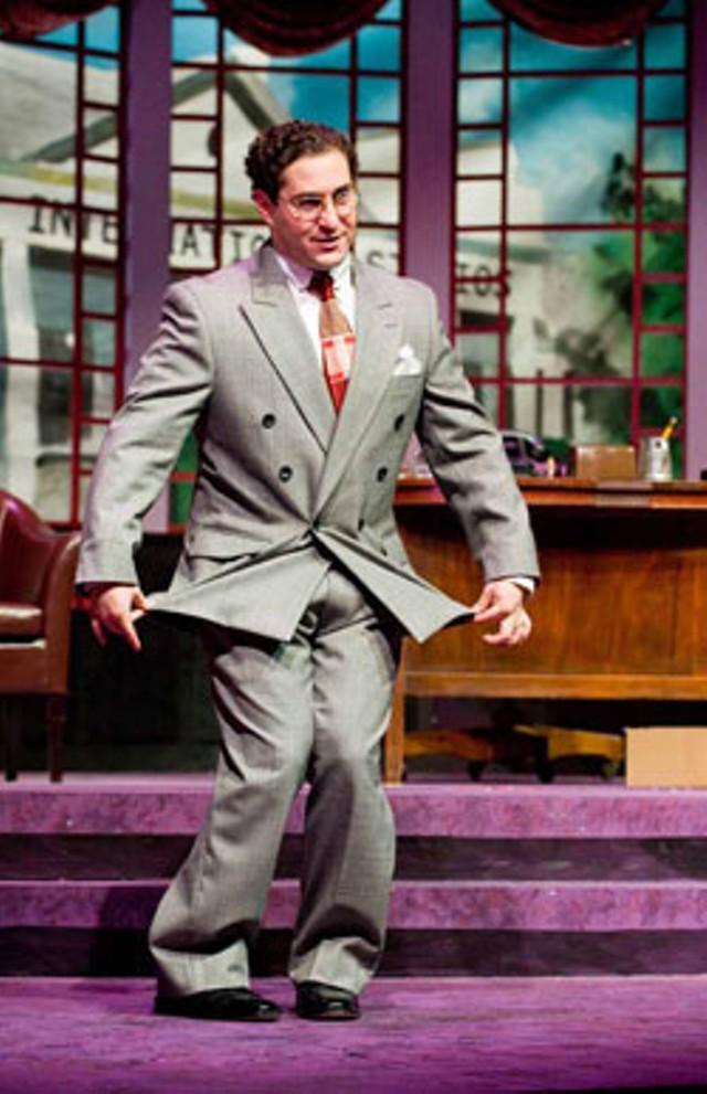 Marty Keiser as David O. Selznick - ANDY DUBACK