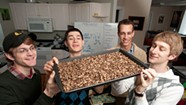 At Middlebury College, a Student Enterprise Fights Global Hunger — with Crickets