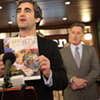 Weinberger's Restart: Mayor Faces Challenges From the Left