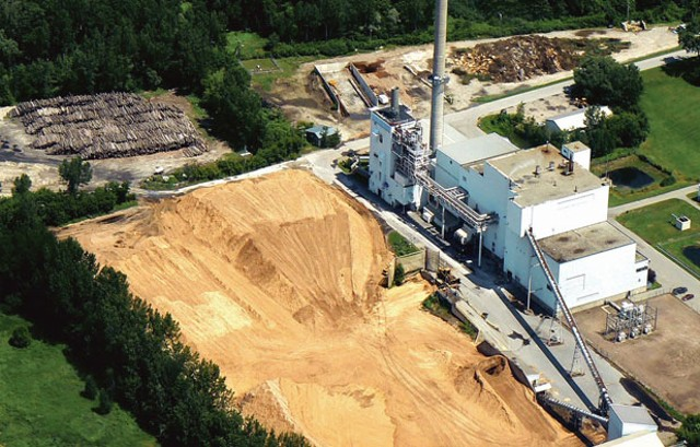 McNeil Generating Station, Vermont's largest biomass power plant