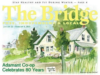 The Bridge's January 22 issue - SCREENSHOT