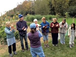 Members of the Ten Stones Community Garden - KEN FRENCH