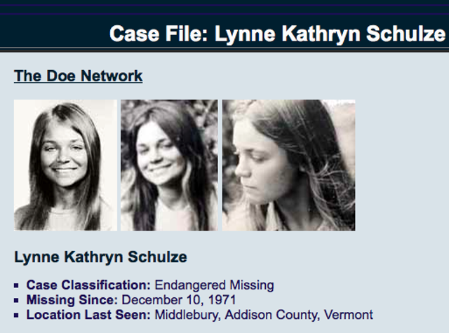 THE DOE NETWORK: INTERNATIONAL CENTER FOR UNIDENTIFIED & MISSING PERSONS