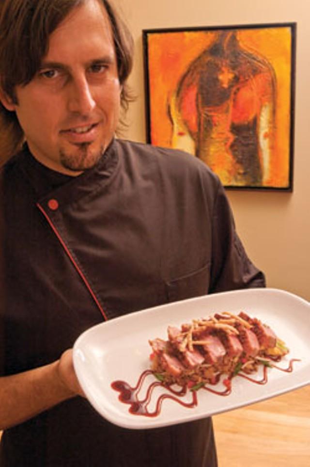 Miguel Garcia at Santos Cocina Latina