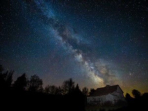 "KEN SHAW - ""Milky Way Barn"""